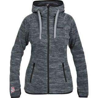 Bergans Hareid Lady Jacket, dark grey - Fleecejacke