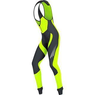 Gore Bike Wear Xenon 2.0 Windstopper SO Bibtights+, black neon yellow - Radhose