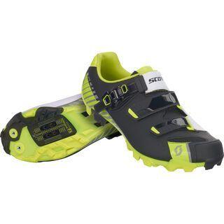 Scott MTB Pro Shoe, matt black/ gloss yellow - Radschuhe