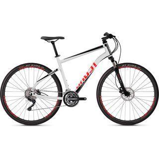 Ghost Square Cross 2.8 AL 2019, white/black/red - Fitnessbike