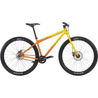 Kona Unit 2016, yellow-orange - Mountainbike