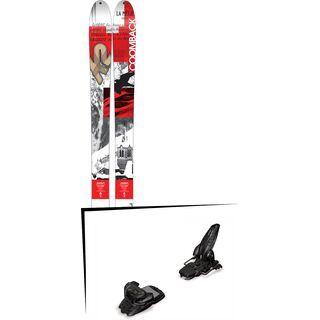 K2 SKI Set: Coomback 104 2016 + Marker Jester 16