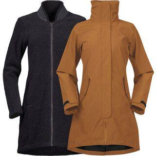 Bergans Oslo 3in1 W Coat, desert melange - Mantel