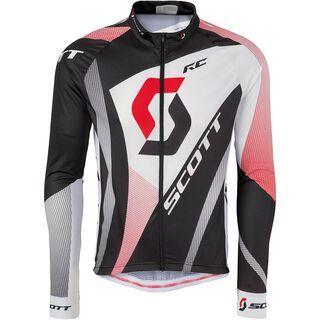 Scott RC Pro Light l/sl Shirt, black/red - Radtrikot