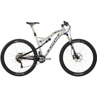 Kona Satori 2014, matt raw aluminium/black/orange - Mountainbike