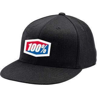 100% Essential Fitted Hat, black - Cap