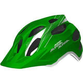 Alpina Carapax Junior, green white - Fahrradhelm