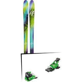 Set: K2 SKI FulLUVit 95Ti 2018 + Tyrolia Attack² 13 GW green
