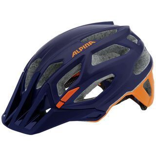 Alpina Garbanzo, darkblue-orange - Fahrradhelm