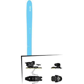 DPS Skis Set: Nina 99 Hybrid 2016 + Salomon Warden MNC 13