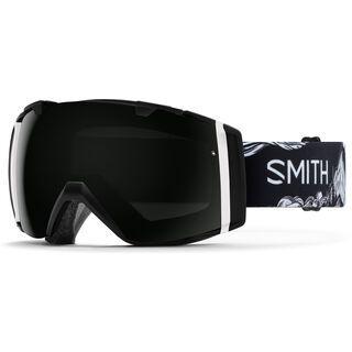 Smith I/O Markus Eder inkl. Wechselscheibe, Lens: sun black chromapop - Skibrille