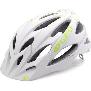 Giro Xara, matte white geo - Fahrradhelm