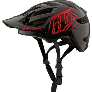 TroyLee Designs A1 Drone Youth Helmet, black/red - Fahrradhelm