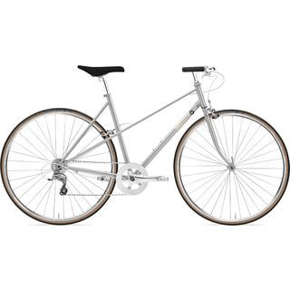Creme Cycles Echo Mixte Uno 2020, silver - Fitnessbike