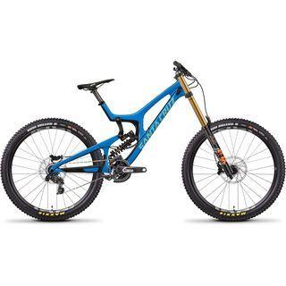 Santa Cruz V10 CC X01 Fox DHX2 2018, blue/mint - Mountainbike