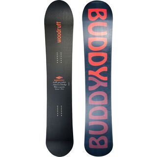 BuddyBuddy Woodruff LTD 2016, black - Snowboard