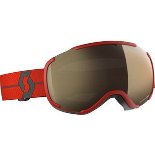 Scott Faze II LS, red/Lens: light sensitive bronze chrome - Skibrille