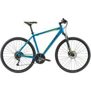 Cube Curve Pro 2014, blue/green - Fitnessbike