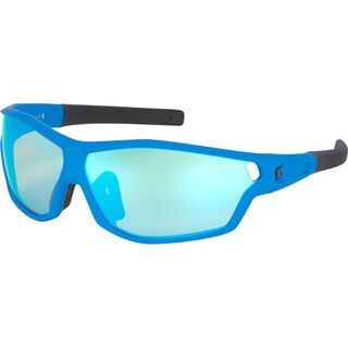 Scott Leap Full Frame, blue mattblue chrome - Sonnenbrille