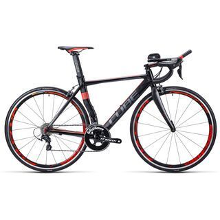 Cube Aerium HPA Pro 2015, black/grey/flashred - Rennrad