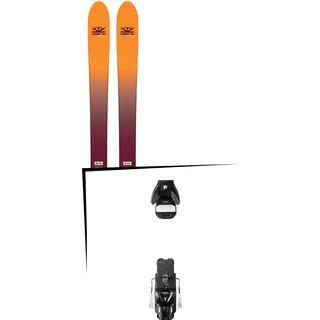 Set: DPS Skis Wailer F99 Foundation 2018 + Atomic STH 13 WTR black/gun metal