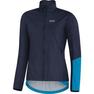 Gore Wear C5 Damen Gore Windstopper Thermo Jacke, blue/cyan - Radjacke