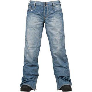 Burton Womens The Jeans Pant, Blue Denim - Snowboardhose