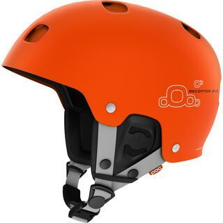*** 2. Wahl *** POC Receptor Bug, iron orange - Skihelm   Größe M // 55-56 cm
