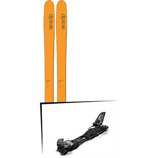 DPS Skis Set: Wailer 99 Hybrid T2 2016 + Marker F12 Tour EPF