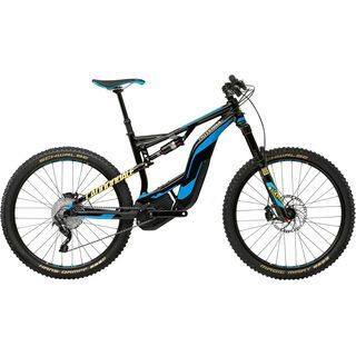 *** 2. Wahl *** Cannondale Moterra LT 2 2017, black/ultra blue/neon spring - E-Bike   Größe M // 44 cm