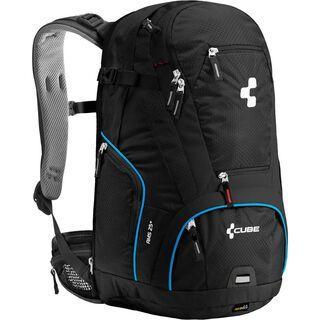 Cube Rucksack AMS 25+ Blackline, schwarz/blau - Fahrradrucksack