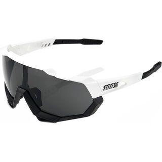 100% Speedtrap inkl. WS, matte white/black/Lens: smoke - Sportbrille
