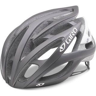 Giro Amare II, matte titanium checkers - Fahrradhelm