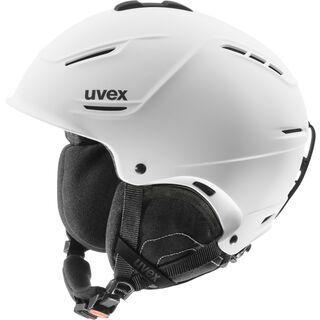 uvex p1us, white mat - Skihelm