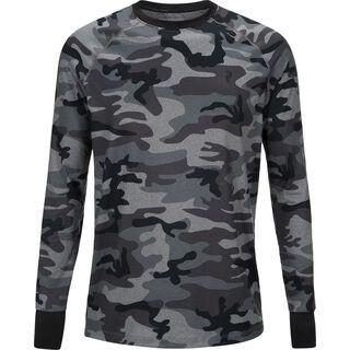 Peak Performance Spirit Print Longsleeve, grey melange camo - Unterhemd