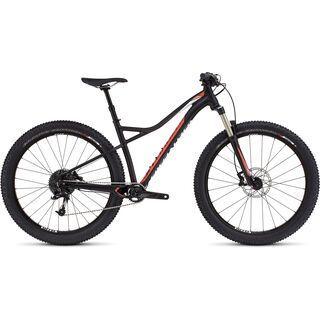 Specialized Ruze Comp 6Fattie 2017, black/coral/white - Mountainbike