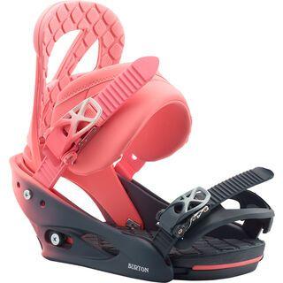 Burton Stiletto 2020, pink fade - Snowboardbindung