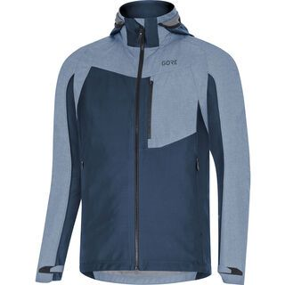 Gore Wear C5 Gore-Tex Infinium Hybrid Kapuzenjacke, deep water blue - Radjacke