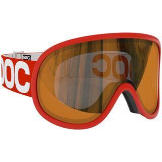 POC Retina Big, Bohrium Red/Persimmon/Red mirror - Skibrille