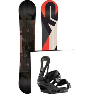 Set: K2 Standard Wide 2018 + Burton Freestyle black