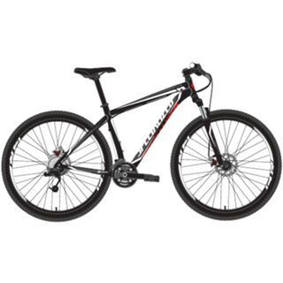 Specialized Hardrock Comp Disc 2014, Gloss Black/Charcoal/White/Red - Mountainbike