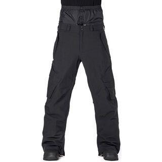 Horsefeathers Barge Pants, black ripstop - Snowboardhose