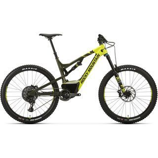 Rocky Mountain Altitude Powerplay Carbon 70 2018, acid/green/black - E-Bike