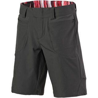 Scott Womens Sky 10 ls/fit Shorts, dark grey/red - Radhose