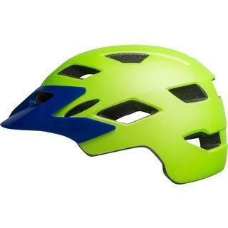 Bell Sidetrack Child, bright green/blue - Fahrradhelm