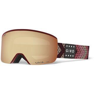 Giro Ella inkl. WS, scarlet mo rockin/Lens: vivid copper - Skibrille