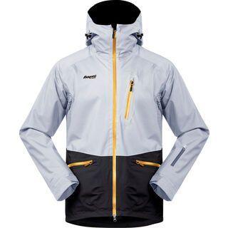 Bergans Myrkdalen Insulated Jacket, grey/charcoal/yellow - Skijacke