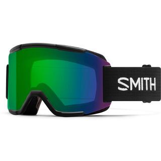 Smith Squad inkl. Wechselscheibe, black/Lens: everyday green mirror chromapop - Skibrille
