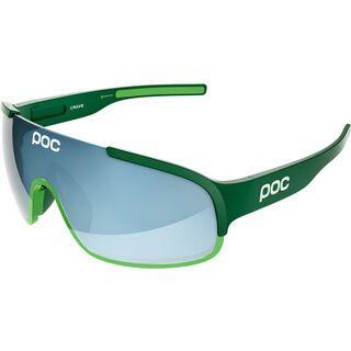 POC Crave, green phosph green/Lens: blue electric mirror - Sportbrille