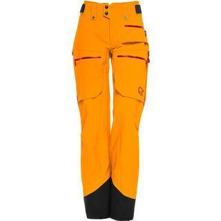Norrona lofoten Gore-Tex Pro Pants W's, orange crush - Skihose